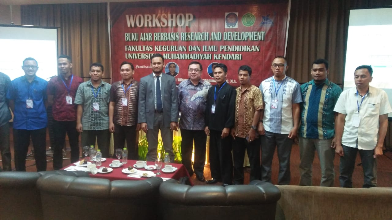 FKIP UMK HELAT WORKSHOP BUKU AJAR BERBASIS REASEARCH AND DEVELOPMENT